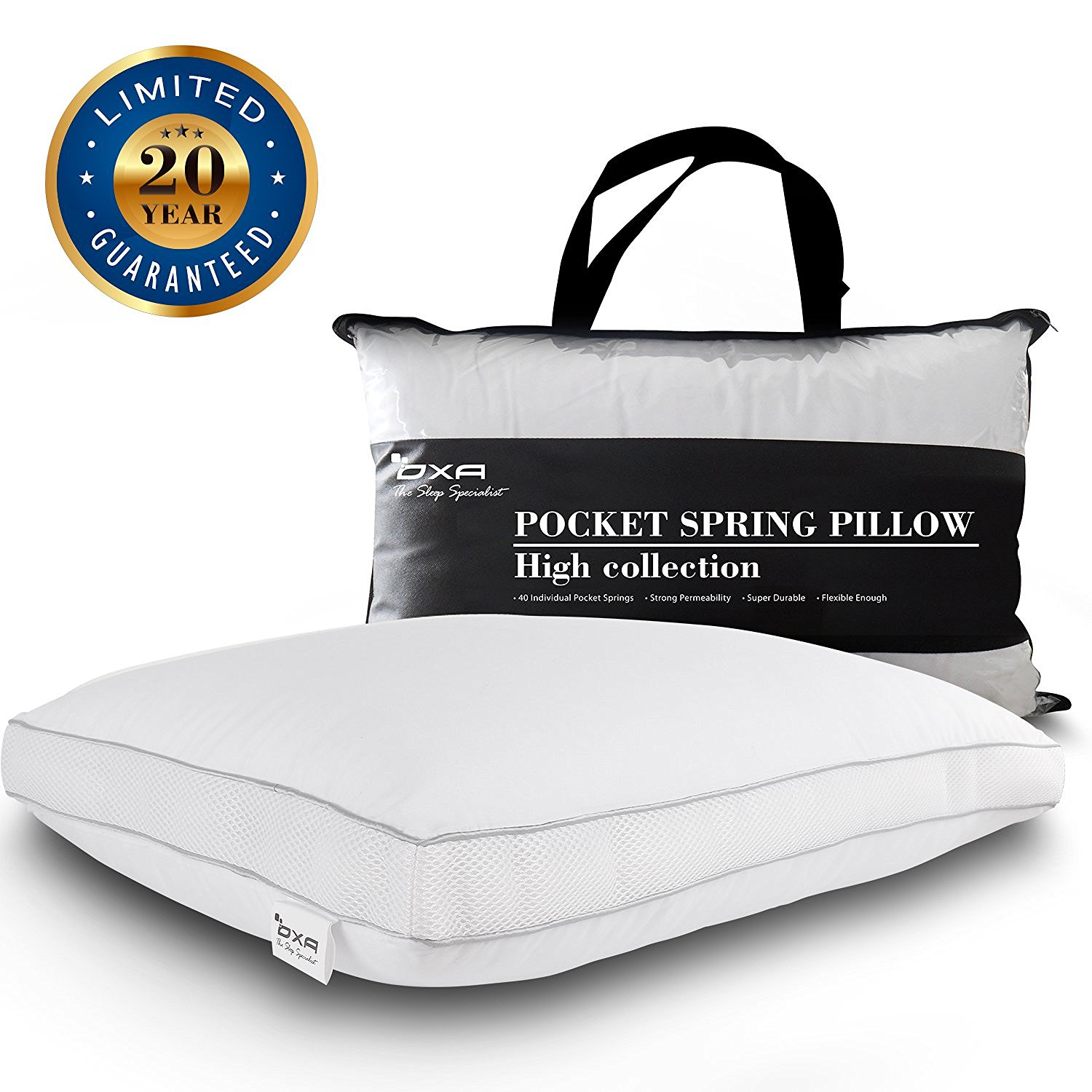 kitchen pack pillows luxury pillow com bed sweet filled with white amazon home top by dp and feathers down collection goose quality standard