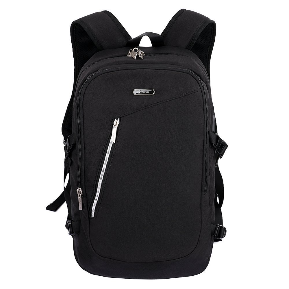58eefb9b4255 OXA Anti-Theft and Water Resistant Business  School Laptop Backpack with  USB Charging Port and Lock Fits up to15.6-Inch Laptop and Notebook
